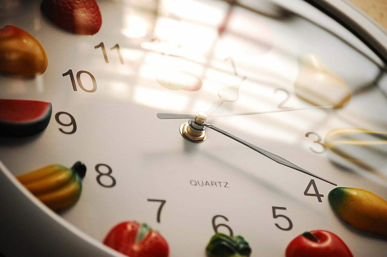 comer 5 veces al día